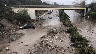 Extreme Rain Causes Deadly Mudslides in California