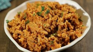 Tomato Rice - Quick and Easy One Pot Recipe - Masala Trails