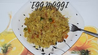 Egg Maggi | Bengali Recipes | Sohoj Ranna