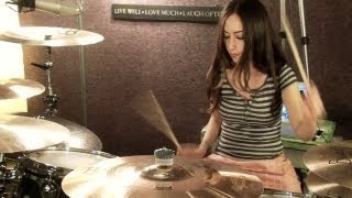 KORN - NEVER NEVER - DRUM COVER BY MEYTAL COHEN