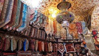 Buying persian rugs in Iran! Tehran Grand Bazaar and Golestan Palace