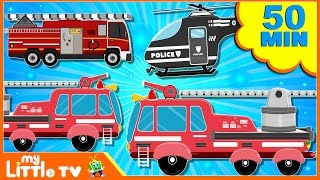 Fire Truck | Car Wash | Videos for Children | Street Vehicles | Cars for Kids