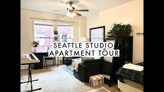 STUDIO APARTMENT TOUR // SMALL SPACE (JULY 2017) | shannonleiMUA