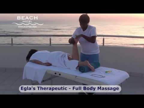 Full Body Massage at Beach Hotel Swakopmund