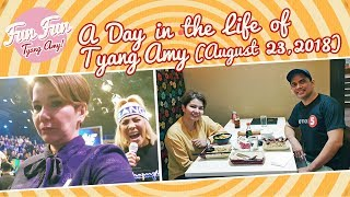 [Fun Fun Tyang Amy] A Day In The Life Of Tyang Amy : August 23, 2018