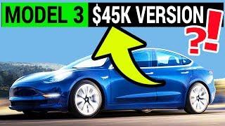 NEW Mid-Range Tesla Model 3 Version Announced by Elon Musk