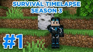 Let's Go! | Minecraft Survival Timelapse Season 3 Episode 1 | GD Venus |