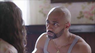 مسلسل الاسطورة - مساج غريب من شهد لـ ناصر - محمد رمضان
