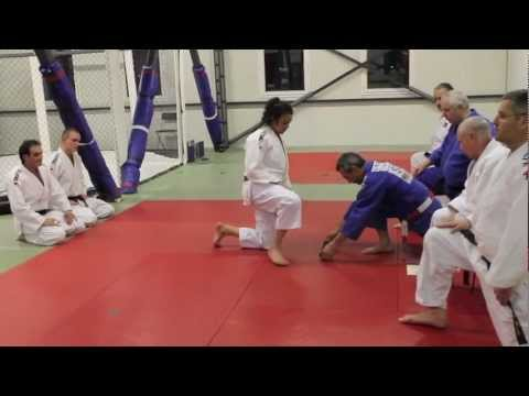 Leila - Judo Black belt test - Nage no kata