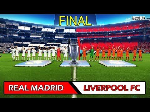 Xxx Mp4 PES 2018 REAL MADRID Vs LIVERPOOL FC UEFA Champions League Final Full Match Gameplay PC 3gp Sex