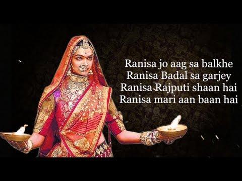Xxx Mp4 Rani Sa Padmavati Song Lyrics 3gp Sex