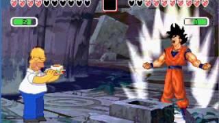 Mugen Goku vs Homero