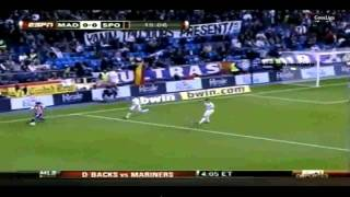 Real Madrid-Sporting Gijon 3-1 {20/3/10} Full Goals And Highlights