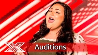 Kayleigh fights her demons in front of the judges | Auditions Week 2 | The X Factor UK 2016