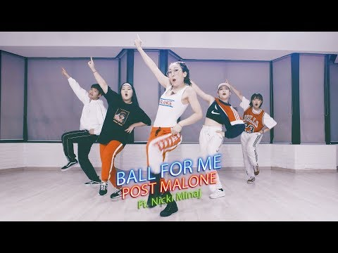 Post Malone - Ball For Me ft.Nicki Minaj : Donkee Choreography