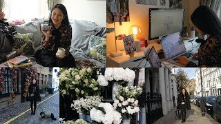 Day in the life of an UAL art student in London | Tips starting a design business, Soho & Badminton