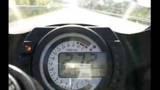 ZX 636 B Top Speed