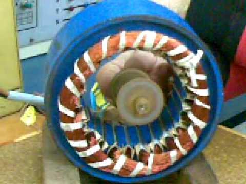 principio e funcionamiento de un motor asincrono trifasico 2 de 2