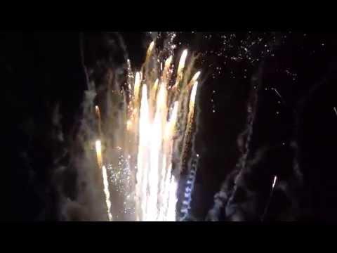 Fogos de Artificio Mongaguá 2014 2015 Virada de Ano 1080p