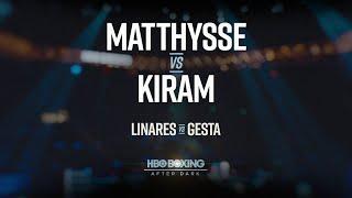 Preview: Matthysse vs. Kiram & Linares vs. Gesta (HBO Boxing)