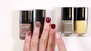 Chanel Longwear Nail Polish Vernis Longue Tenue 2016 Vamp and Particuliere stress test