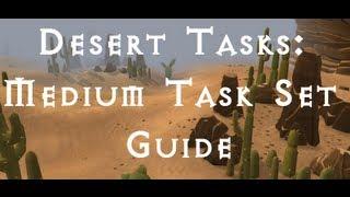 RSTasks: Desert Medium Task Set Guide