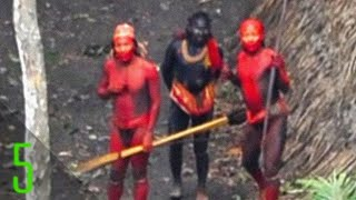 5 Most Mysterious Uncontacted Tribes