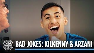 BAD JOKES: Neil Kilkenny & Daniel Arzani