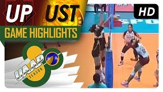 UAAP 80 WV: UP vs UST | Game Highlights | March 17, 2018