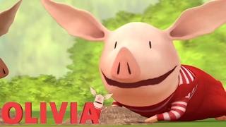 Olivia the Pig | Olivia Plants a Garden | Olivia Full Episodes