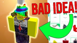 FANS SPEND ALL MY ROBUX ON ANY ROBLOX ITEM! *BAD IDEA!*