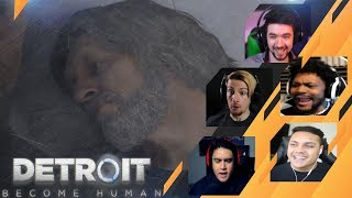 Gamers Reactions to CONNOR SLAPPING HANK | Detroit: Become Human