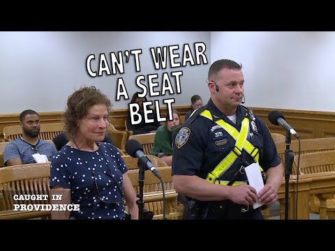 Can t Wear a Seatbelt The Judge is Never Wrong Liberian Pride