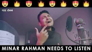 Raz Dee - Ki Tomar Naam - Cover Song -  Minar Rahman - 720p HD