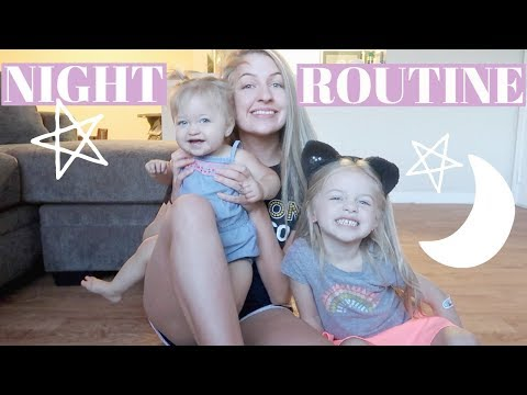 MOMMY NIGHT TIME ROUTINE | Young Mom of 2
