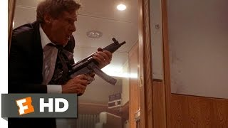 Air Force One (2/8) Movie CLIP - The President Is Armed (1997) HD