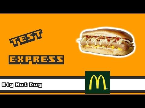Big Hot Dog - McDonald's - Test Express