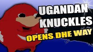 Ugandan Knuckles MUGEN Character Trailer & Download