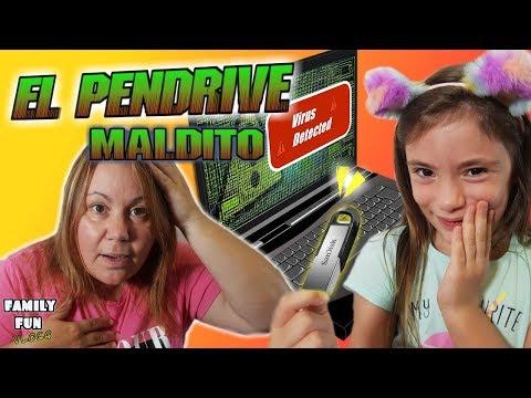 Broma a mamá El pendrive maldito Family Fun Vlogs