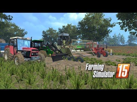 Farming Simulator 15 odcinek #24 QQ na pryzmę :) ale jęczał jak jechał :)