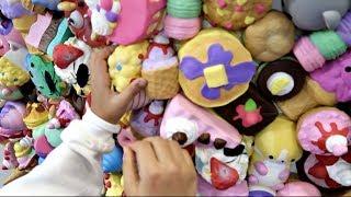 SQUISHY TOYS WALL!! Toys AndMe Family Fun