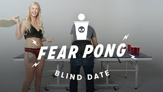 Blind Dates Play Fear Pong  (Peter vs. Ashley) | Fear Pong | Cut