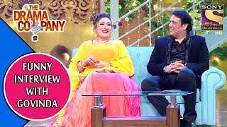 Funny Interview With Govinda | The Drama Company