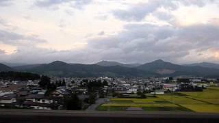 Morioka To Tokyo Shinkansen Window View