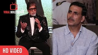 Amitabh bachchan  Reaction on Akshay Kumar not Part of Aankhen 2