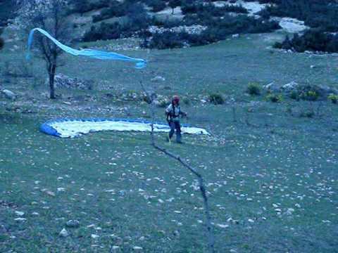 ilk uçuş 14 03 2010 yamaç paraşütü mutlupalalar
