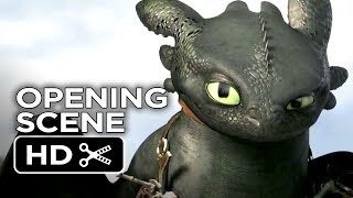 How To Train Your Dragon 2 Official Opening Scene (2014) - Animation Sequel HD
