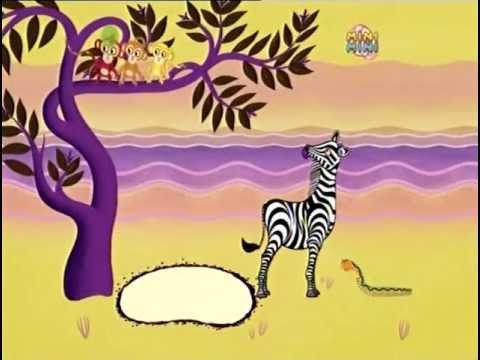 Opowiesci z Tinga Tinga 02 Dlaczego wąż nie ma nóg.avi