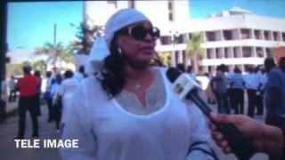 Guy Philippe's wife Nathalie Makes a statement after her husbands arraignment in Miami court