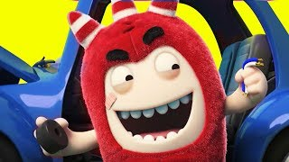 Oddbods | The Car Trouble  | Funny Cartoons for Children by Oddbods & Friends